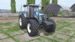 New Holland TG285 front weight para Farming Simulator 2017