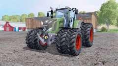 Fendt 828 Vario ruedas gemelas para Farming Simulator 2015