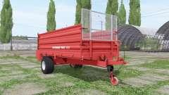 POTTINGER Twist 7001 para Farming Simulator 2017