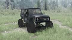 Suzuki Samurai crawler para MudRunner