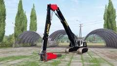 Liebherr R 954 C Litronic chainsaw para Farming Simulator 2017