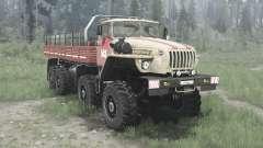 Ural 6614 para MudRunner