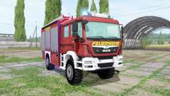 MAN TGM 13.290 Feuerwehr para Farming Simulator 2017