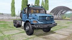 Mercedes-Benz Zetros 3643 AS 6x6 para Farming Simulator 2017