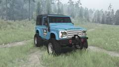 Land Rover Defender 90 Station Wagon para MudRunner