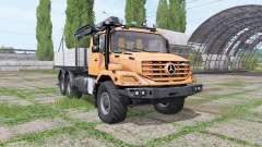 Mercedes-Benz Zetros 2733 A crane-manipulator para Farming Simulator 2017