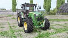 John Deere 5085M loader mounting para Farming Simulator 2017