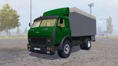 MAZ 500 contenedor verde para Farming Simulator 2013