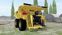 Caterpillar 797B para Farming Simulator 2017