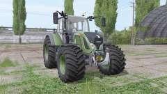 Fendt 724 Vario wide tyre para Farming Simulator 2017