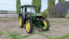 John Deere 6810 narrow tires para Farming Simulator 2017