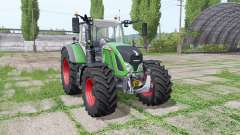 Fendt 720 Vario wide tyre para Farming Simulator 2017