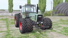 Fendt Farmer 310 LSA Turbomatik double wheels para Farming Simulator 2017