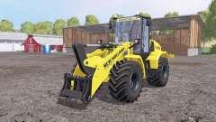 New Holland W170C v1.1 para Farming Simulator 2015