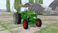 Deutz D 40S 4WD para Farming Simulator 2017