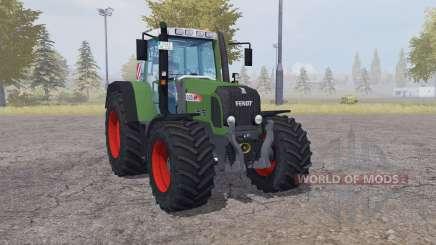 Fendt 820 Vario TMS front loader para Farming Simulator 2013