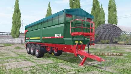 METALTECH TS 22 para Farming Simulator 2017