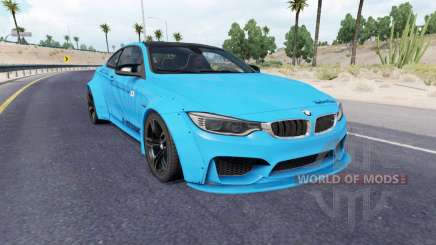 BMW M4 coupe (F82) v2.0 para American Truck Simulator