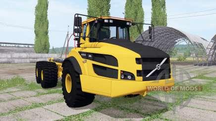 Volvo A40G FS hooklift v0.5 para Farming Simulator 2017