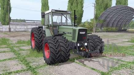 Fendt Farmer 312 LSA Turbomatik double wheels para Farming Simulator 2017