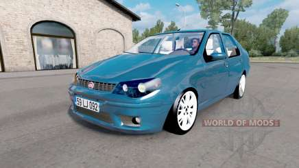 Fiat Albea (178) 2006 v1.1 para Euro Truck Simulator 2