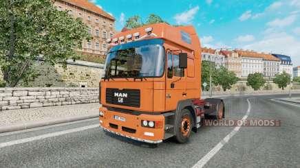 MAN F2000 19.414 FLS v1.0.4 para Euro Truck Simulator 2