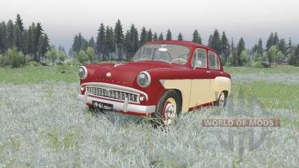 Moskvich 407 1958 v2.0 para Spin Tires