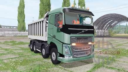 Volvo FH 540 8x8 tipper para Farming Simulator 2017