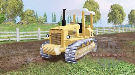 Caterpillar D4E 1978 para Farming Simulator 2015