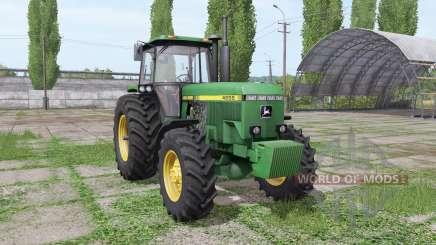 John Deere 4555 v4.0 para Farming Simulator 2017