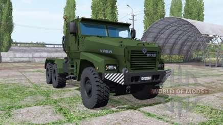 Ural Tifón-U (63095) 2014 camión v1.1 para Farming Simulator 2017