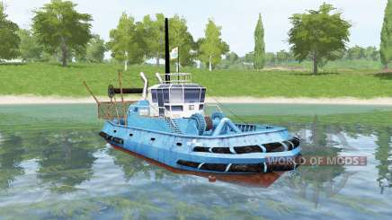Azul de la nave para Farming Simulator 2017
