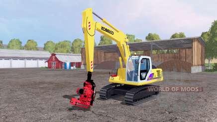 Kobelco SK160 LC para Farming Simulator 2015
