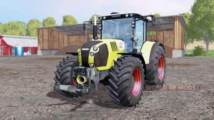 CLAAS Arion 650 ploughing spec para Farming Simulator 2015