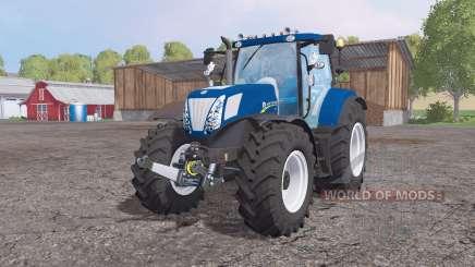 New Holland T7.270 De Alimentación Azul para Farming Simulator 2015