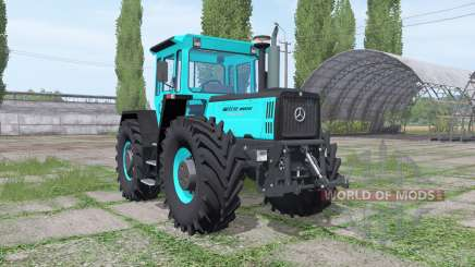 Mercedes-Benz Trac 1800 Intercooler turquoise para Farming Simulator 2017