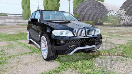 BMW X5 (E53) 2004 para Farming Simulator 2017