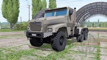Ural Tifón-U (63095) 2014 camión v1.1.0.1 para Farming Simulator 2017