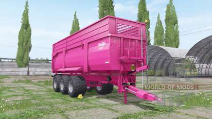 Krampe Big Body 900 multicolor para Farming Simulator 2017