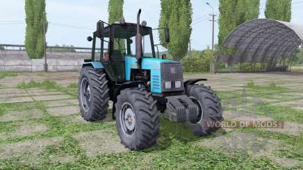 MTZ-1221 Belarús azul para Farming Simulator 2017