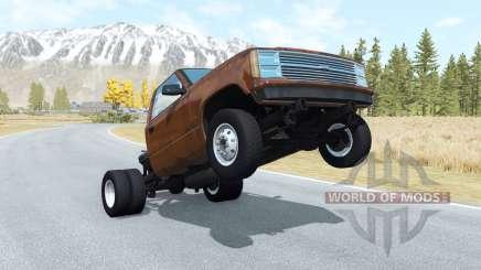 Gavril D-Series wheelie v1.1 para BeamNG Drive