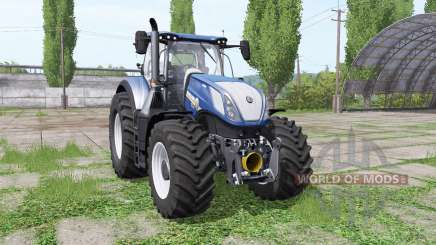 New Holland T7.290 wide tyre para Farming Simulator 2017