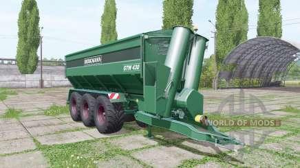 BERGMANN GTW 430 update para Farming Simulator 2017