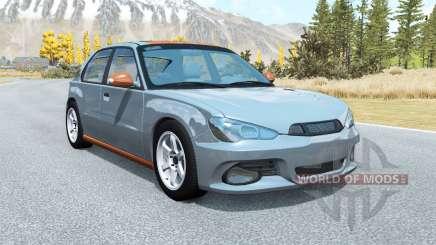 Hirochi Sunburst hatchback v1.13 para BeamNG Drive
