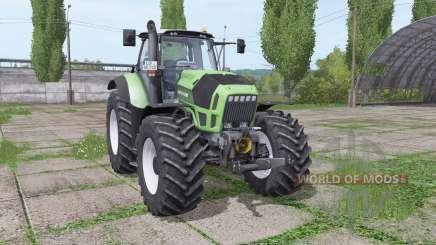 Deutz-Fahr Agrotron X720 wide tyre para Farming Simulator 2017