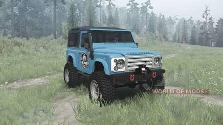 Land Rover Defender 90 Station Wagon para MudRunner