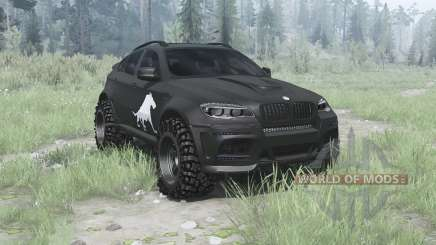 BMW X6 M (E71) BORZ para MudRunner
