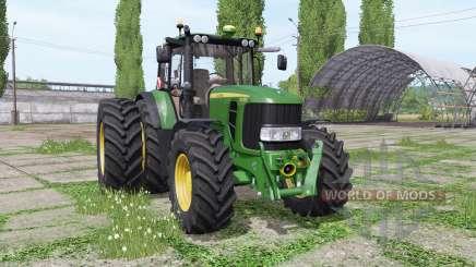 John Deere 6430 Premium dual rear para Farming Simulator 2017