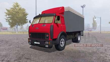 MAZ 500 contenedor rojo para Farming Simulator 2013