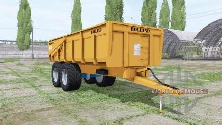 Rolland Turbo 135 v2.0 para Farming Simulator 2017